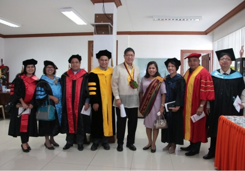 Steel industry leader addresses Bulacan State University graduates