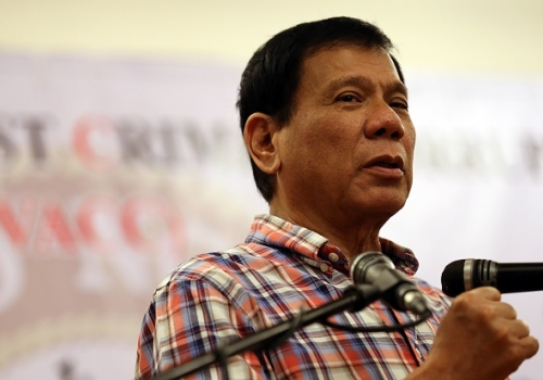 Duterte says he'll bring steel industry back to life
