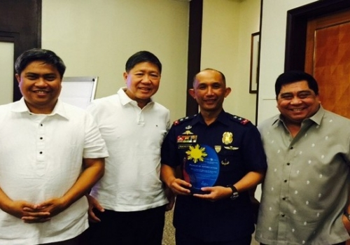 Police Director Benjamin Magalong speaks on Business Ethics with SteelAsia executives